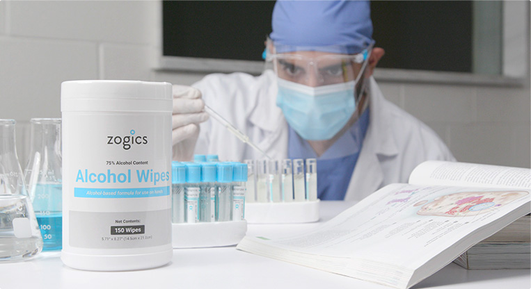 Disinfecting and sanitizing products for healthcare industry