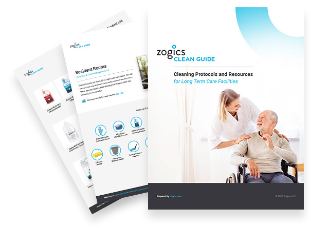 Download the Zogics Clean Guide for Healthcare Facilities