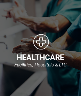 Commercial cleaning and disinfecting products for the healthcare industry