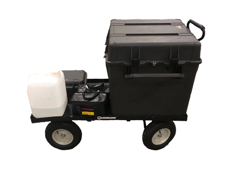 Travel Cart for the D1 Disinfecting Drone
