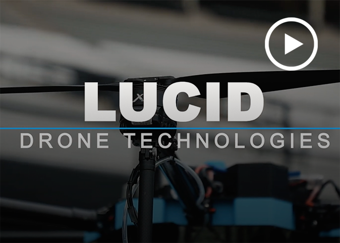 Watch the Lucid Disinfecting Drone D1 video - click here