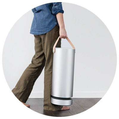 Molekule Air home air purification is portable and easy to move