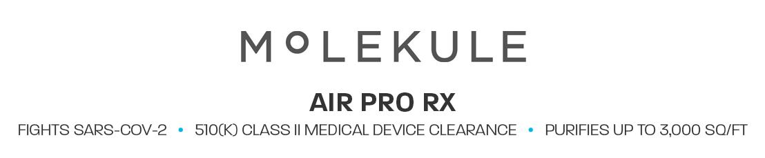 Molekule Air Pro RX 510(k) Class II Medical Device Clearance