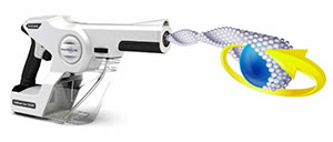disinfecting spray gun 360-degree cleaning coverage