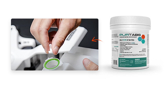 Shop PURTABS to add to your Protexus purchases