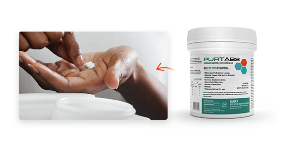 Shop PURTABS to add to your Protexus purchase