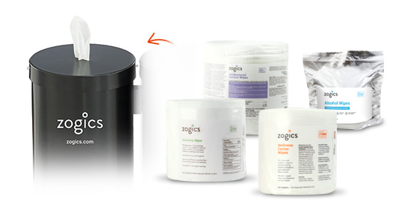 Shop Zogics Wipes for the Dual Canister Wipes Dispenser