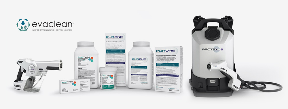 The EvaClean System - Protexus, PURTABS, and PUR:ONE