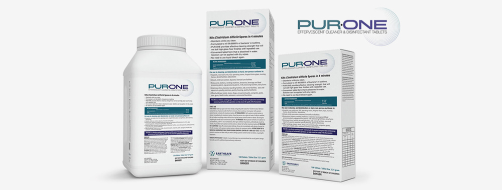 PUR:ONE Disinfecting Tablets