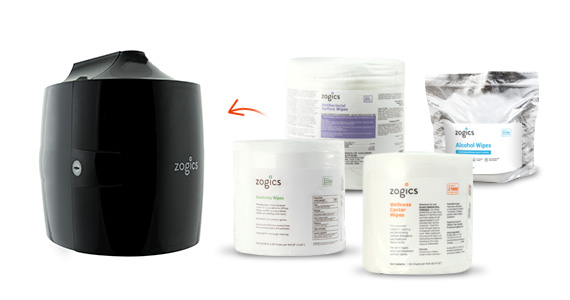 Shop Zogics Wipes for the Upward Pull Wipes Dispenser