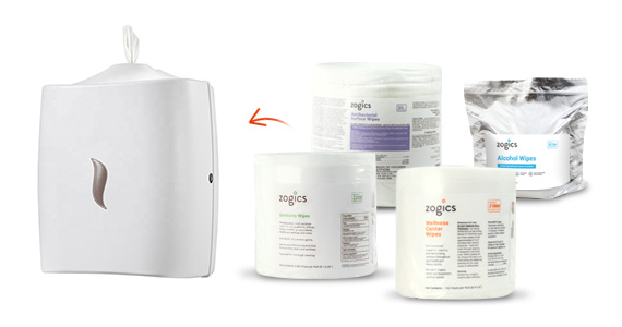 Shop Zogics Wipes for the Stainless Steel Wipes Dispenser