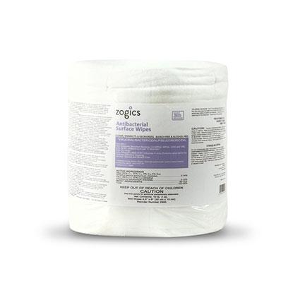 Zogics Antibacterial Disinfecting Wipes