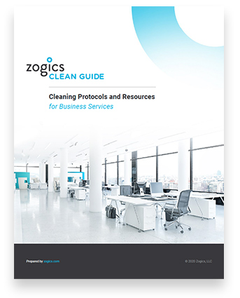 Download the Zogics Clean Guide for Business Services