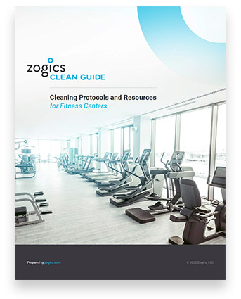 Download the Zogics Clean Guide for Fitness Centers
