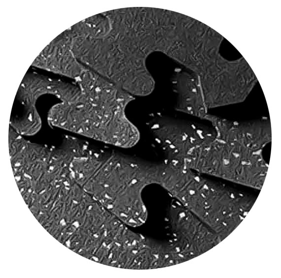 Zogics Puzzle Tile Rubber Flooring Standard Packages