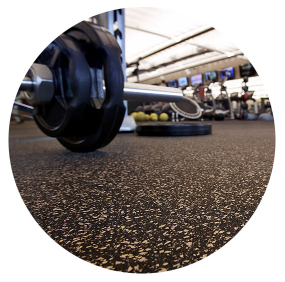 Zogics Rolled Rubber Flooring Standard Packages