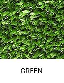 Green color sample of Zogics gym turf flooring.