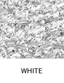 White color sample of Zogics gym turf flooring.