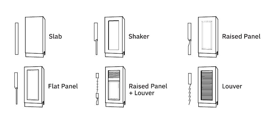 Wood Door Styles