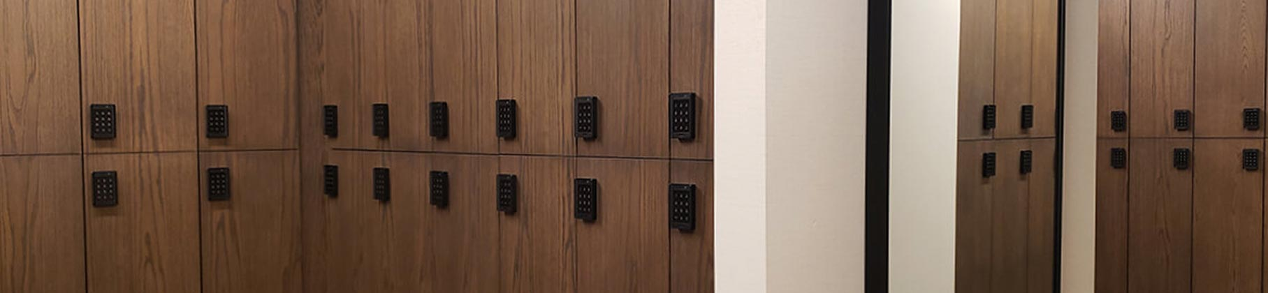 Zogics Club Wood Lockers
