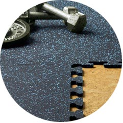 Zogics Rubber Flooring (Puzzle Tiles)
