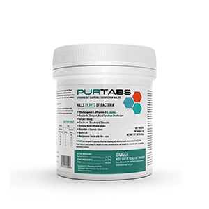 PURTABS Disinfecting Tablets