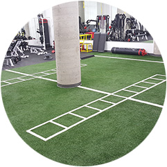 Zogics Gym Turf Flooring