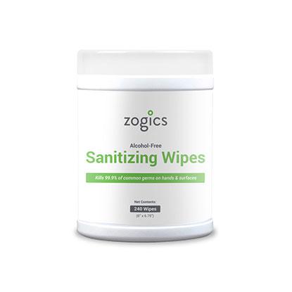 Zogics Sanitizing Wipe Tubs
