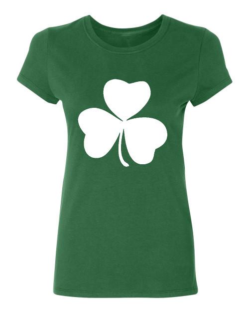 Irish shamrock Ladies T-Shirt, green