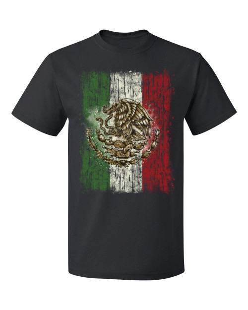 Mexican Flag T-Shirt, black
