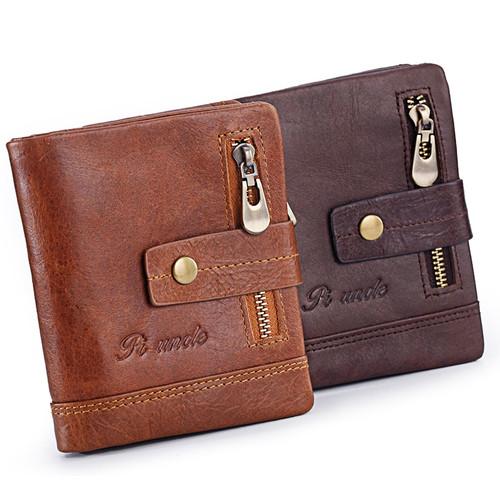 .Kennyjacks luxurous Genuine men Leather Wallet bifold Coin purse.