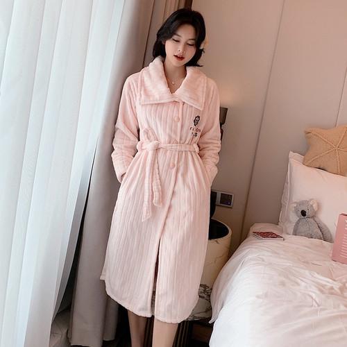 Bathrobe Homewear Bath Robe