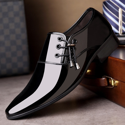 luxury Brand Men Classic Pointed Toe