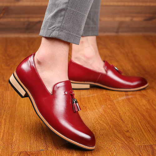 Mens Loafers Casual Leather Shoes