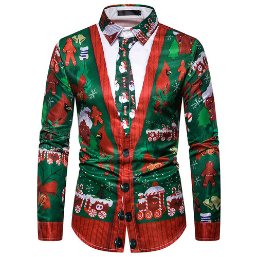 Men's Christmas Shirt 20120