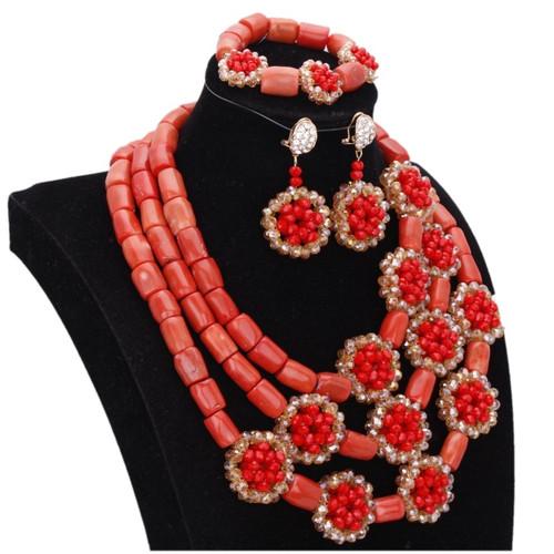 Dudo 100% Original Coral Necklace Beads