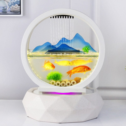 European Fish Tank Fountain