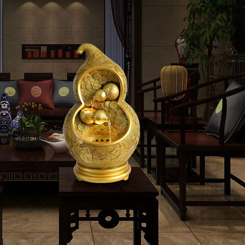 Fashion Gold Gourd Plant Resin