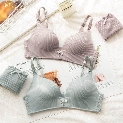 Lingerie Sets Wireless Underwear A B