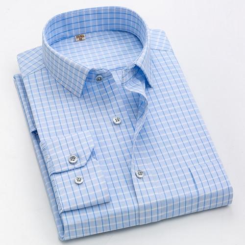 kennyjacks Business Formal Plaid Shirt camisa social 1