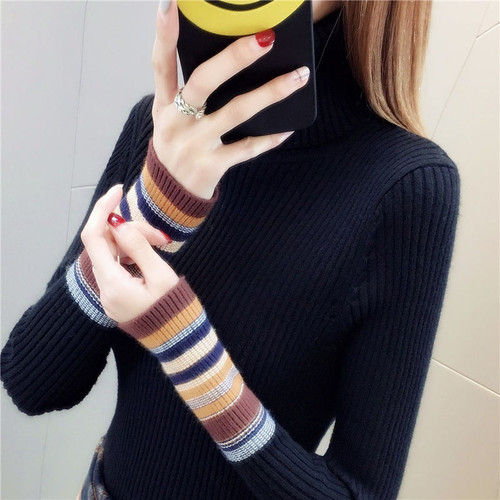 Sweaters Long-Sleeve Female Pullovers