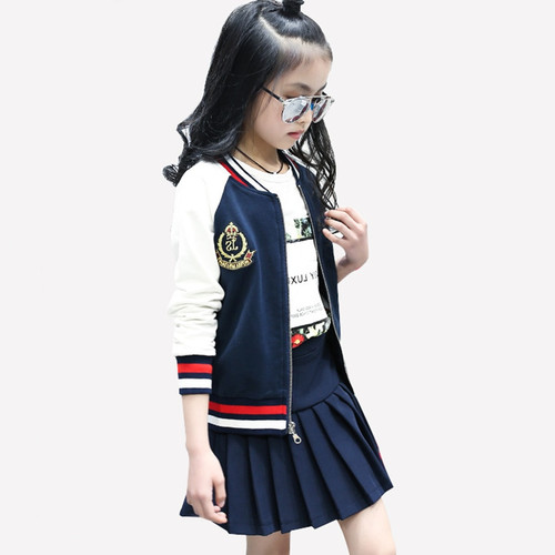 Girls suit teen spring autumn