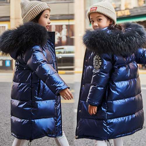 Girls Clothes Duck Down Jacket