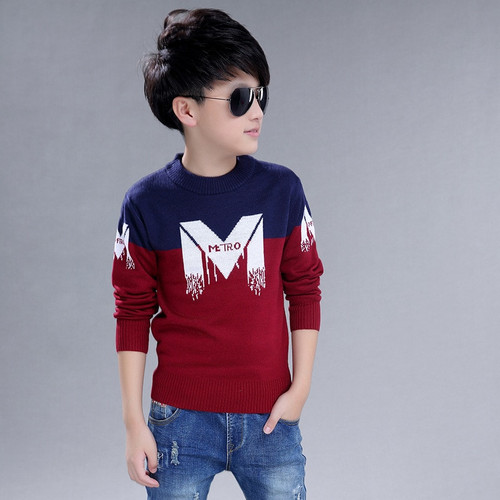 boys Sweater Children's clothing