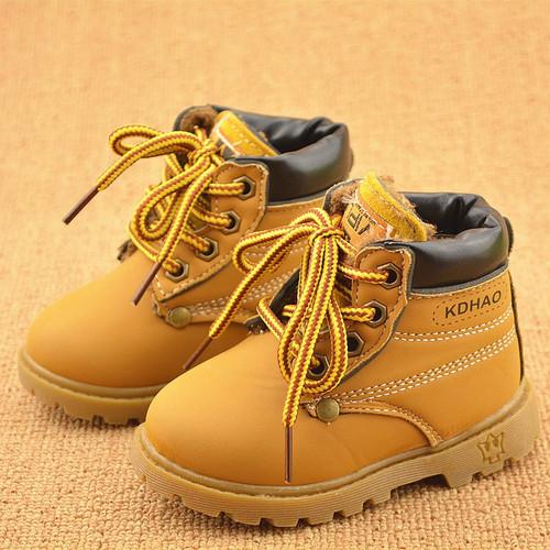 Boys Plush Fashion Boots