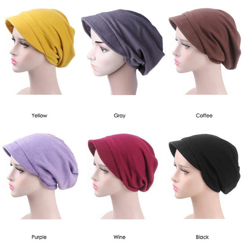 Hat Beret Winter Hair Accessories Solid Color