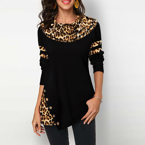 Button Cotton Womens Tops And Blouses