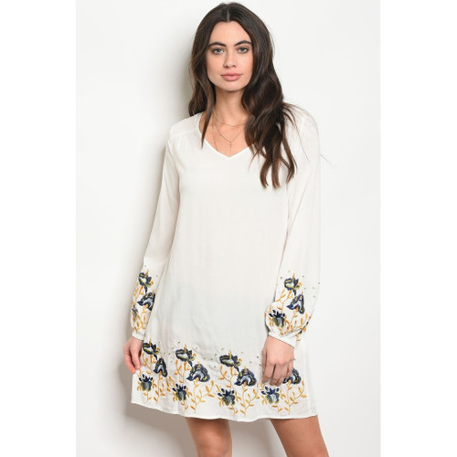 Copy of Womens Ivory Dress