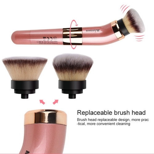 Brushes Kit With Make-up Head Valentine Gift