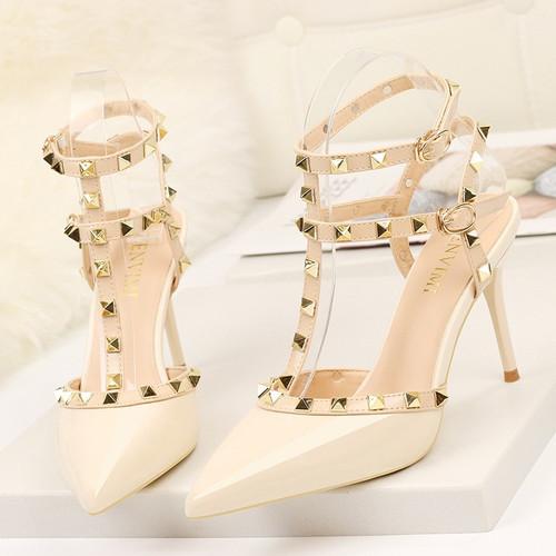 Fashion Sandals Office Dress White Black Shoes